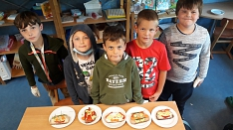 Brotgesichter der 3c -2©Regenbogenschule Stolzenau