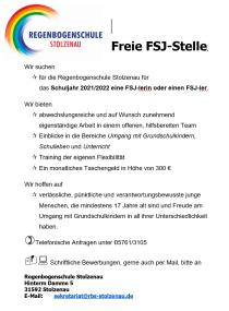 FSJ©Regenbogenschule Stolzenau