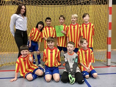 Fußballturnier Uchte am 15.02.18©Regenbogenschule Stolzenau
