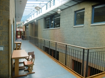 Flur der 2c, 3c, 4a, 4b©Regenbogenschule Stolzenau