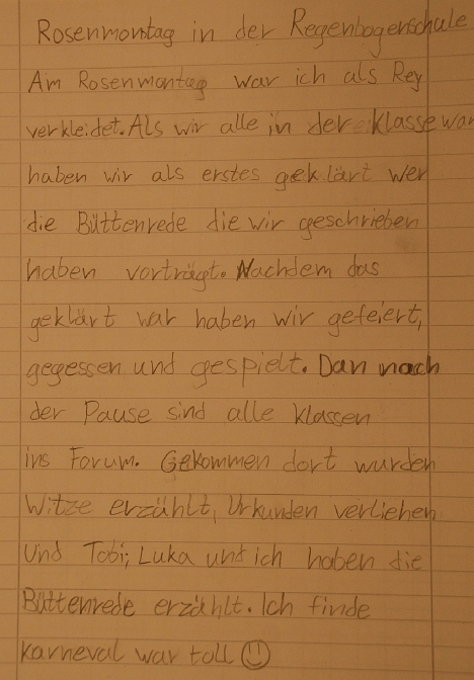 Rosenmontag Text 4